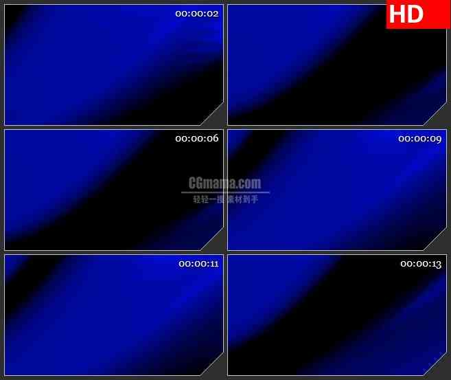 BG3774深蓝色柔光标题板led大屏背景高清视频素材