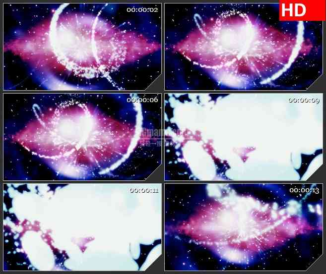 BG3814唯美流星 粒子特效led大屏背景高清视频素材