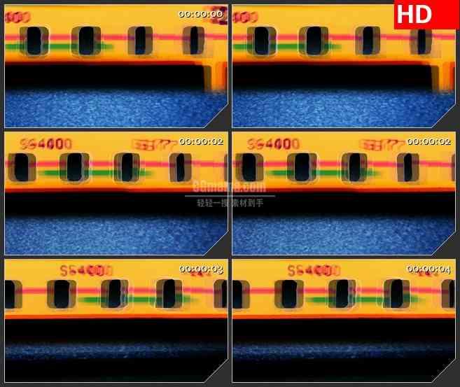 BG3828相机胶片led大屏背景高清视频素材