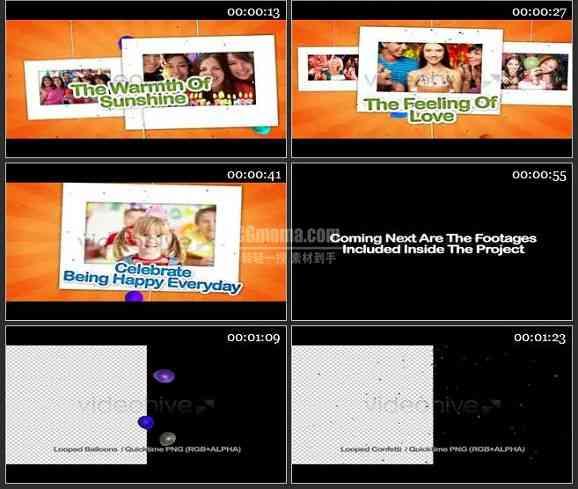 AE2243-儿童生日派队 相册