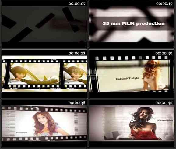 AE2284-电影胶片风格 图片展示