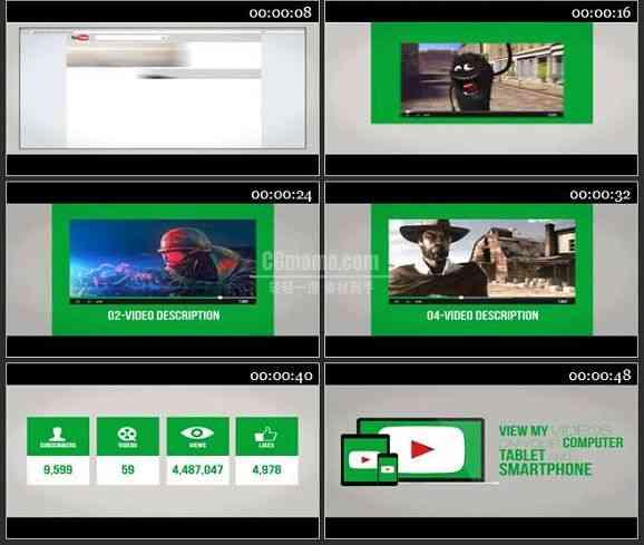 AE2301-视频网站广告宣传