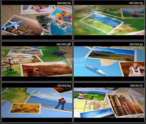 AE2322-旅游回忆录相册