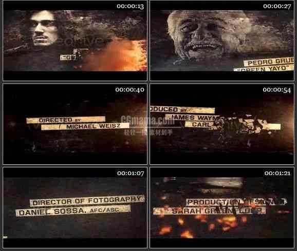 AE2352-史诗风格动作电影宣传视频展示