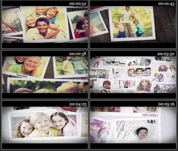 AE2392-记忆风格家庭相册