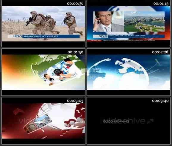 AE2492-电视新闻栏目包装