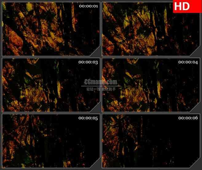 bg3848岩石峭壁led大屏背景高清视频素材