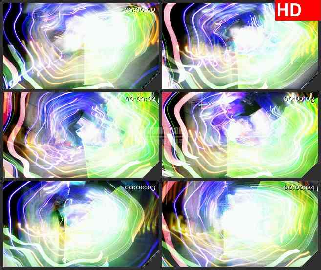 BG3854眼花缭乱的光线2led大屏背景高清视频素材