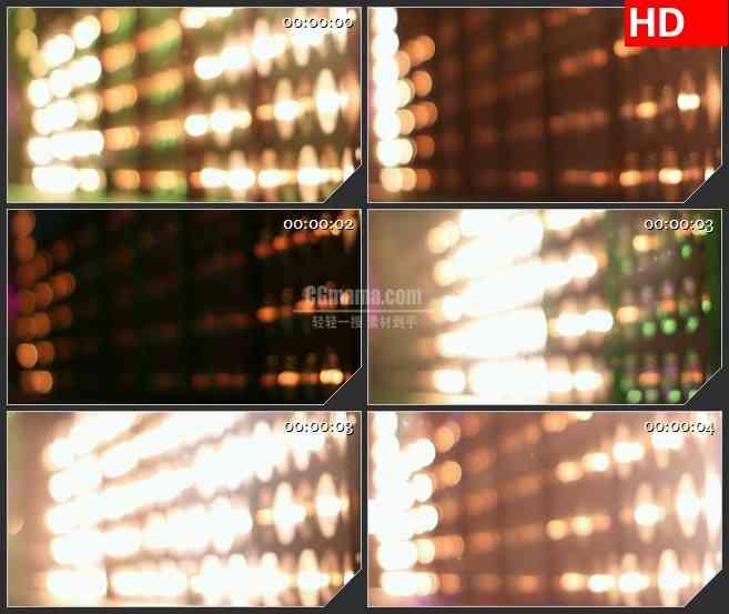 BG3874音乐会闪烁的灯光led大屏背景高清视频素材