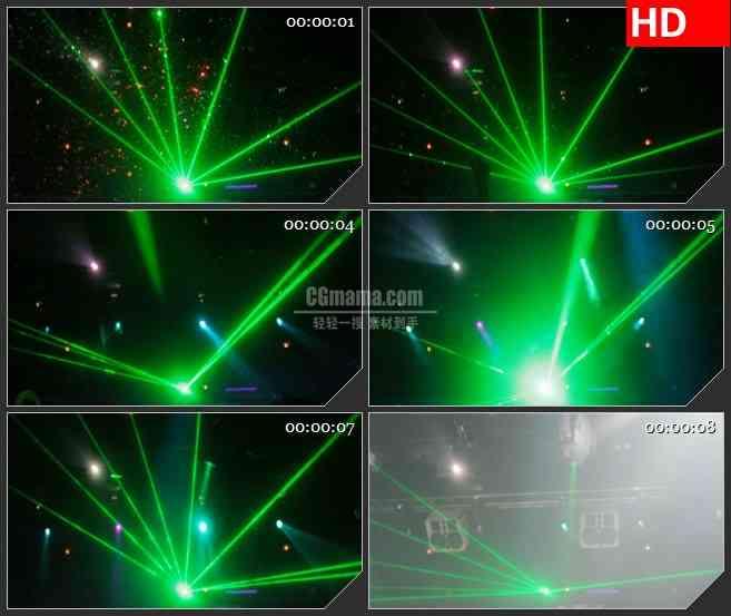BG3875音乐会现场 镭射灯led大屏背景高清视频素材