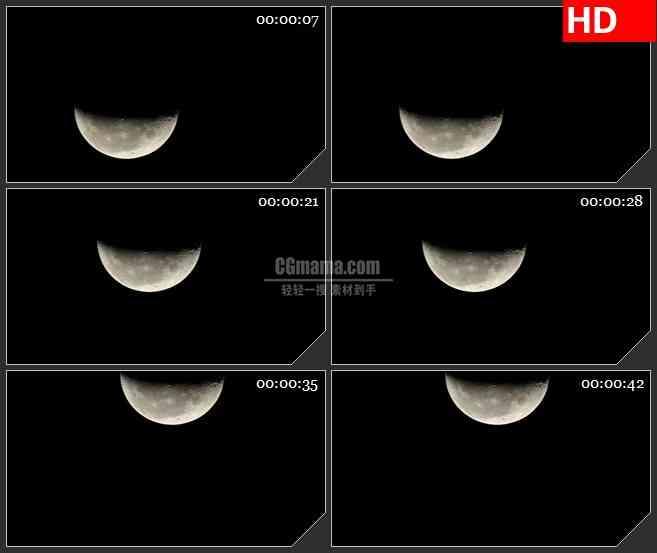 BG3907月球led大屏背景高清视频素材