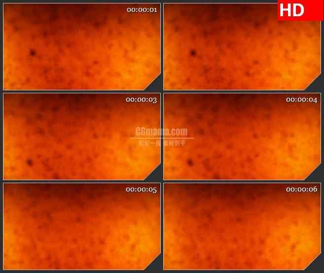 BG3981橙色杂质led大屏背景高清视频素材