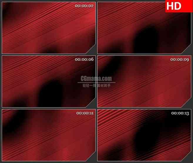 BG4104红色对角线波纹led大屏背景高清视频素材