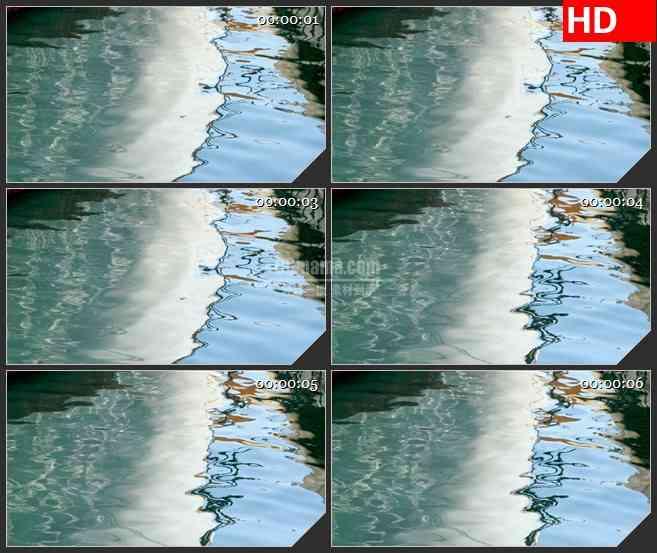 BG4211蓝色水面水波纹特写led大屏背景高清视频素材