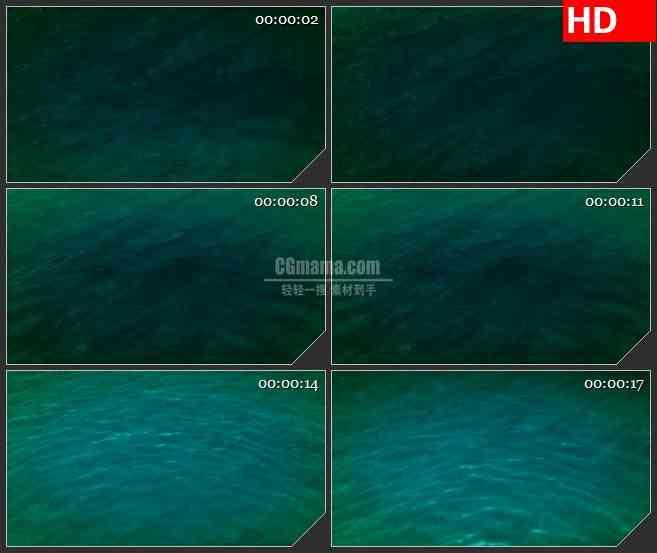 BG4253浅水池反射蓝色水波光影led大屏背景高清视频素材