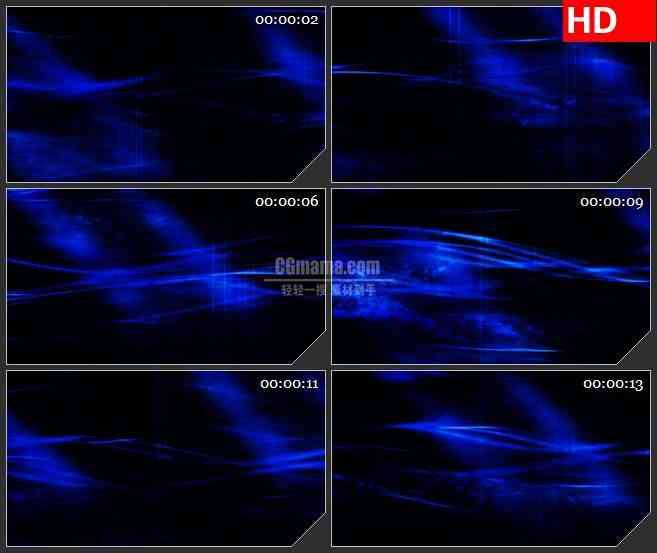 BG4294深蓝色暗波纹理led大屏背景高清视频素材