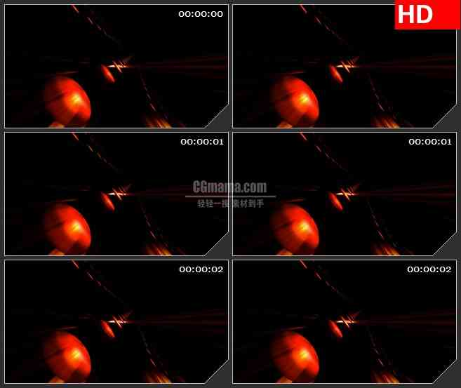BG4359旋转红点排列黑色背景带通明通道led大屏背景高清视频素材