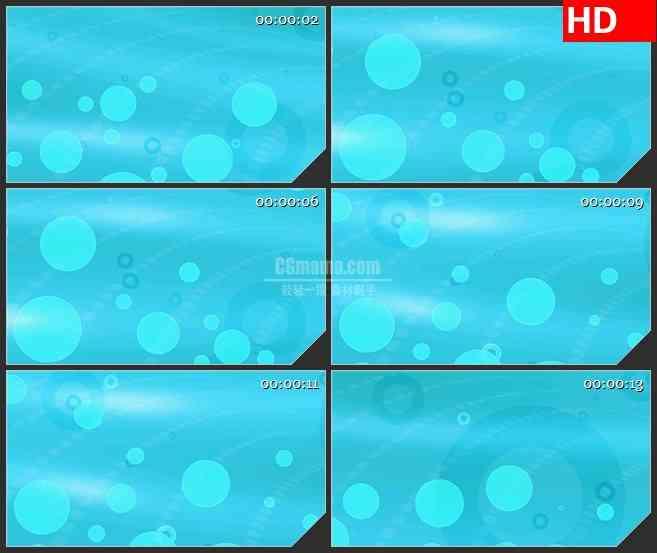 BG4403旋转圆型光斑浅蓝色背景led大屏背景高清视频素材