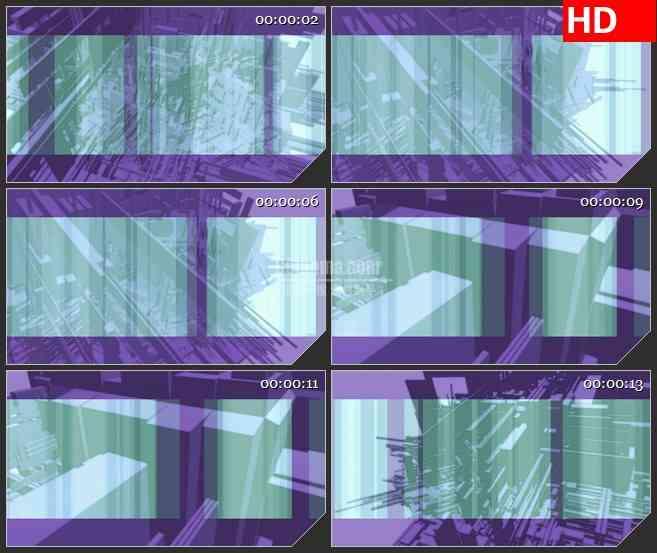 BG4431摘要紫色背景光谱纹理led大屏背景高清视频素材