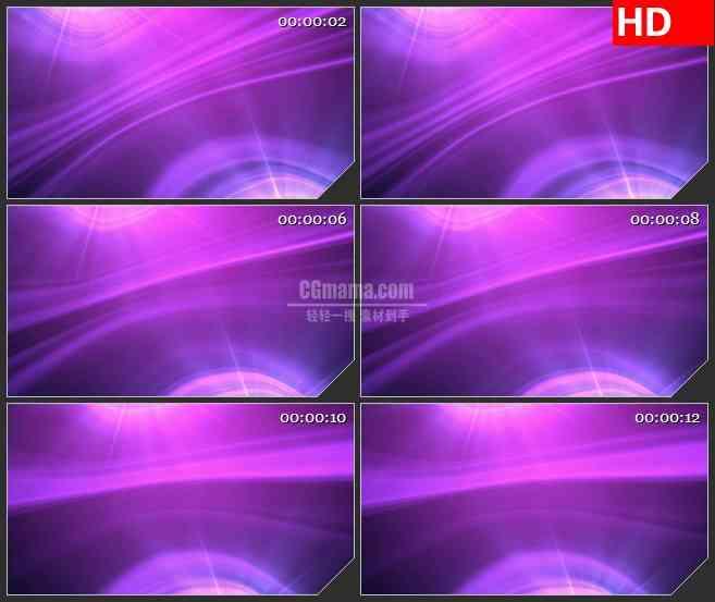 BG4444紫色光环水波纹光芒动态背景led大屏背景高清视频素材