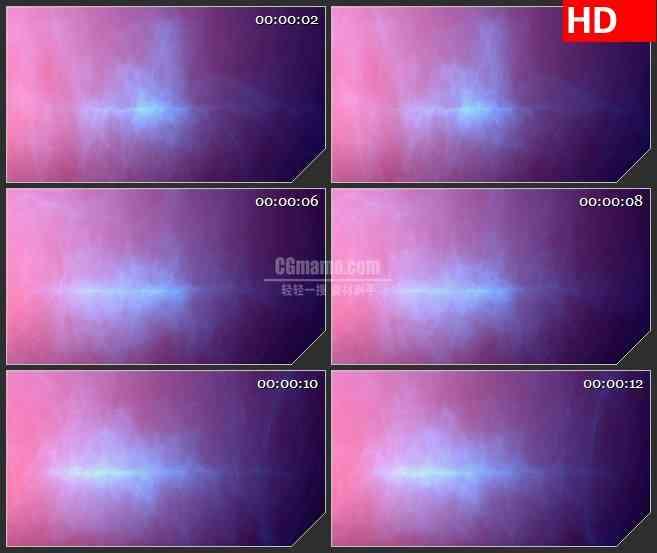 bg4468紫色蓝粉色雾器光波漩涡led大屏背景高清视频素材