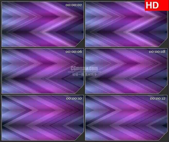 BG4469紫色渐变折线锯齿动态背景led大屏背景高清视频素材