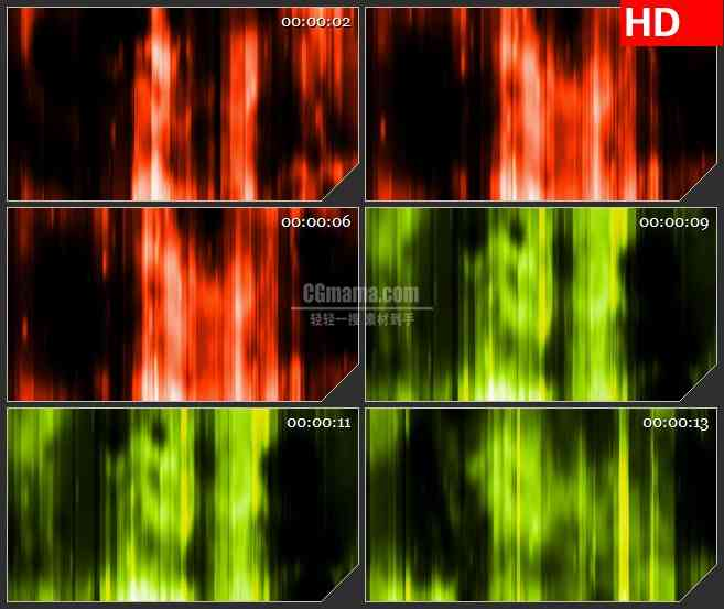 BG4502彩虹竖条多彩变光动态背景led大屏背景高清视频素材