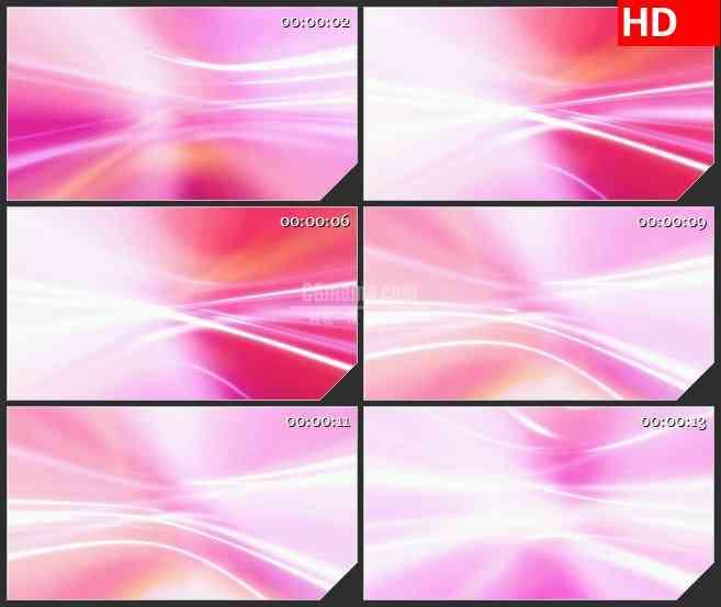 BG4533粉红光波波浪光影led大屏背景高清视频素材