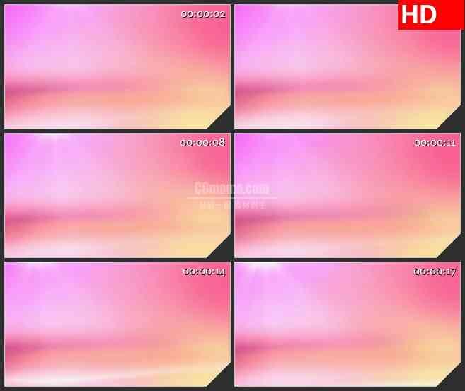 bg4540粉红色橙色渐变动态背景led大屏背景高清视频素材