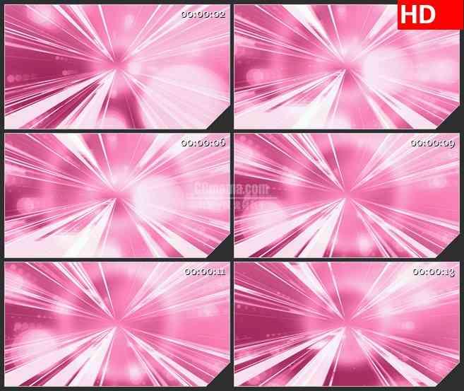 BG4566粉色白色发散光芒发射光斑led大屏背景高清视频素材