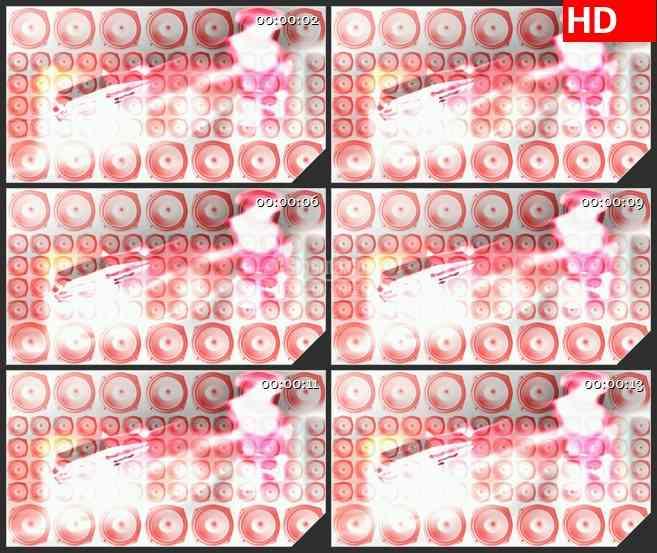 BG4573粉色记录播放扬声器音响白色背景led大屏背景高清视频素材