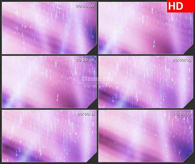 BG4575粉色离子雨动态背景led大屏背景高清视频素材