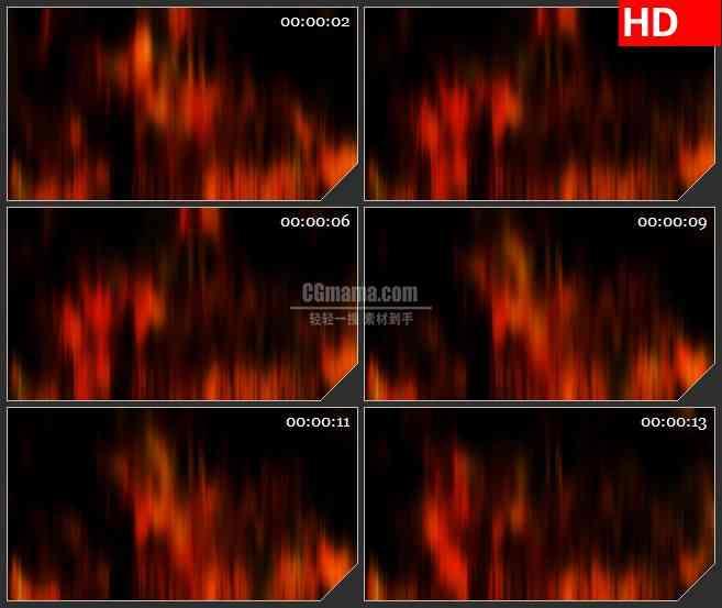 bg4613红色火焰光束幕布led大屏背景高清视频素材