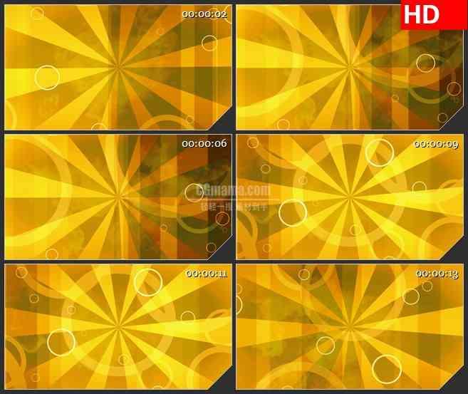 BG4640黄色金色闪光旋转时尚动感led大屏背景高清视频素材