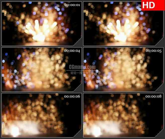 BG3327朦胧的烟花 led大屏背景高清视频素材